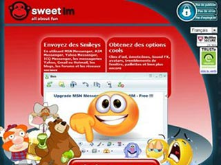 SweetIM : Smileys, Emoticones, Clins d'œil gratuits