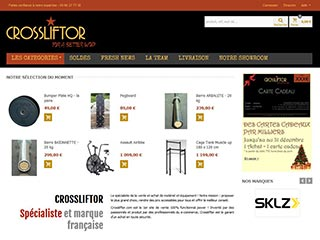 Crossliftor, 1er site de functional fitness