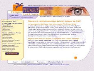 Campus numérique Pegasus : préparation au DAEU