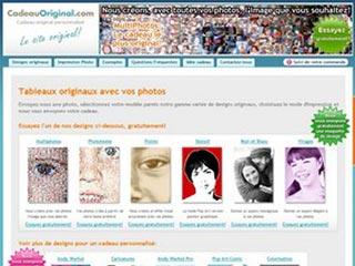 Cadeau Original, tableaux personnalisés avec vos photos