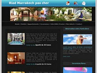 Riad Marrakech pas cher