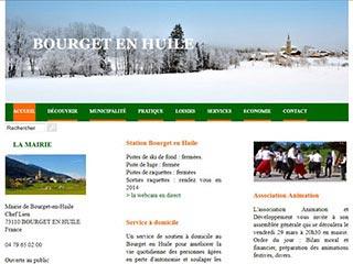 Le Bourget en Huile, une commune savoyarde du Val Gelon