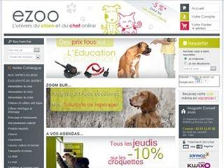 Ezoo, l'univers du chien et du chat
