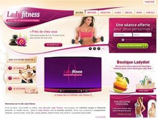 Lady Fitness : Circuit minceur personalisé