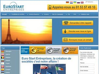 Eurostartentreprises, création de société en Europe