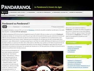 Pandaranol raconté par le blog Youpibolgo
