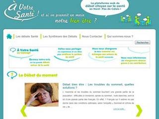 A Votre Santé : Débat santé Nord Pas-de-Calais