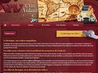 Rallyes Bretagne avec A Vos Volants