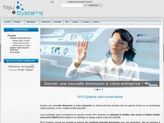 NYU Systems, le spécialiste de l'écran tactile multitouch