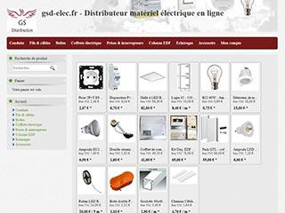 Gsd elec, distributeur de matériel électrique en ligne