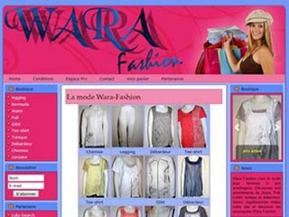 Wara-Fashion, la boutique de vêtements pour femmes