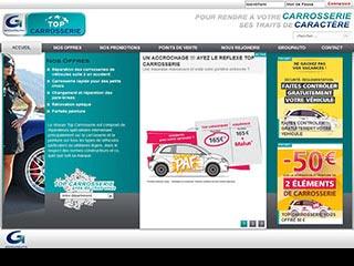Top Carrosserie, réseau de carrossiers auto