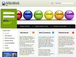 AlfaWeb, création site web pro