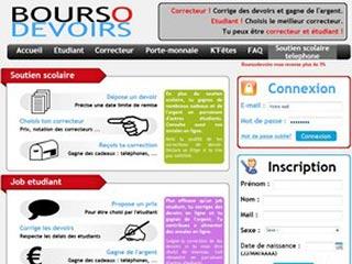 Boursodevoirs : Soutien scolaire en ligne, college, lycee, superieur