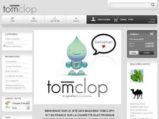 TomClop : Vente de cigarettes électroniques