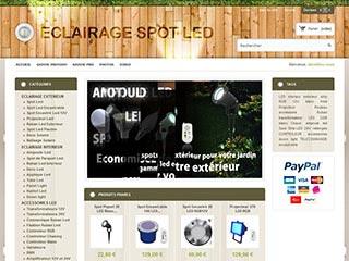 Eclairage-spot-led : Les éclairages spot led et ruban led