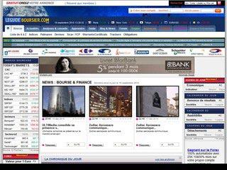 Le guide boursier, site d'actualité de la bourse