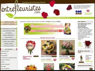 Entrefleuristes, spécialiste de la livraison de fleurs