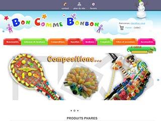 Communiqués de presse de Boncommebonbon.fr