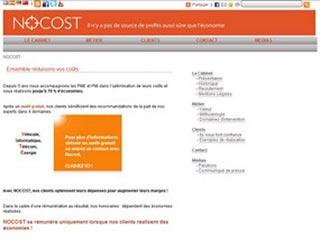 Nocost, cabinet d'expert en optimisation de coûts