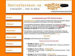 École de Hockey - HockeyIntense.ca - Québec