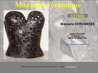 Manuela Céramique, créations en faïence, grès ou porcelaine