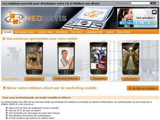 Neoretis, relation client par le marketing mobile
