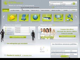 Ex-Works, offre emploi international