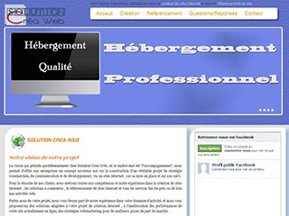 Solution Créa Web, création et référencement de site à bordeaux 33