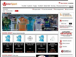 Mister Sport : Maillot Football, Rugby, Cyclisme, etc
