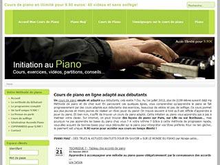 Cours de piano en ligne: apprendre le piano en vidéos et sans solfège