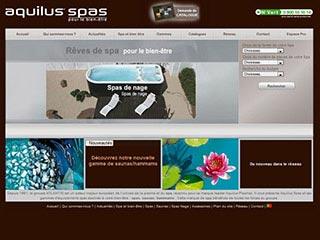 Aquilus spas, spécialiste en vente de spa