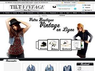 Tilt Vintage : Boutique en ligne de Vintage