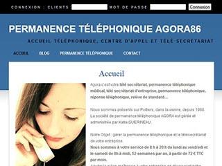 Agora86, spécialiste de permanence téléphonique  pour tous