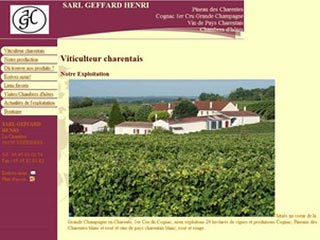 GEFFARD Henri : Pineau des Charentes, Cognac