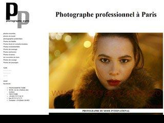 Photographe professionnel à Paris
