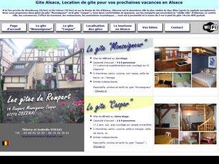 Gite Alsace, location de gite pour vos vacances