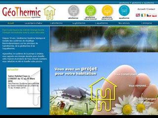 Géothermic Système, chauffages thermodynamiques