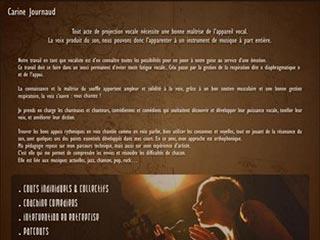Cours de chant et technique vocale, Paris 11ème