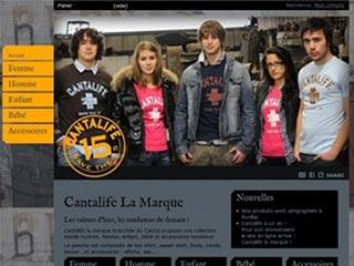 Cantalife : Tee-shirt pour femmes, hommes et enfants