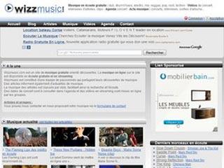 Wizzmusic, musique en écoute gratuite