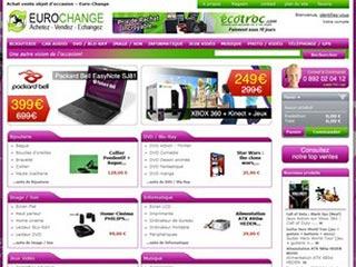 EuroChange : Achat et vente produits d'occasion et neufs