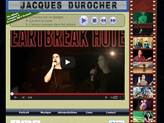 Jacques Durocher : Chansons pop rock en français, MP3 gratuit et vidéo