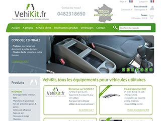 VehiKit, tous les kits et accessoires pour aménager votre utilitaire
