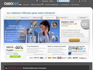 Axiatel, spécialiste dans la vente de solutions télécoms