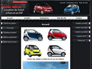 Interauto 75, location Smart et Fiat 500 en Ile de France
