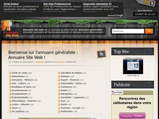 Annuaire site web, généraliste gratuit