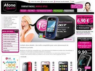 Afone mobile, abonnement et forfait mobile