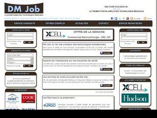 DM Job : Recrutement et offres d'emploi Biomédical