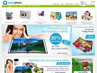 Photo service en ligne : Smartphoto
